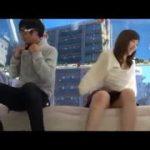 公然セックスする素人カップルが興奮【マジックミラー号-無料動画】