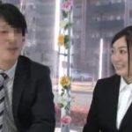 オフィス街の新人OLが上司とキス・・・【マジックミラー号-MM号無料動画】