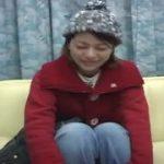 冬のニット帽が似合う人妻に顔射しちゃったww【マジックミラー号-MM号無料動画】