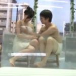 清楚で激カワな黒髪美女が男と一緒にお風呂に【マジックミラー号-MM号無料動画】