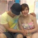 ナンパした水着美女を素人同士仲良く抱き合い・・・【マジックミラー号-MM号無料動画】
