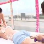 二人のビキニ姿の女の子が男性にエステマッサージするハーレム動画wwww【マジックミラー号-MM号無料動画】