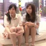 女子大生二人組が仲良く電マ責めされいっぱつ昇天www【マジックミラー号-MM号無料動画】