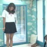 人妻に制服を着せてエロいプレイを再現www【マジックミラー号-MM号無料動画】