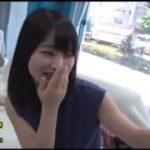 ペニスを見せられたのにかなり嬉しそうな表情の美少女www【マジックミラー号-MM号無料動画】