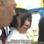 電車を再現したミラー号で痴漢される制服JKが可愛いwww【マジックミラー号-MM号無料動画】